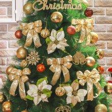 크리스마스 골드 장식세트(150cm) 크리스마스_4E3247