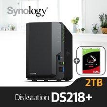 [3/6 이후 출고예정] [에이블] DS218+ [시게이트 아이언울프 2TBx1]/NAS전용HDD