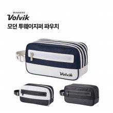 [볼빅] VAIB-모던 투웨이지퍼 파우치 골프용품