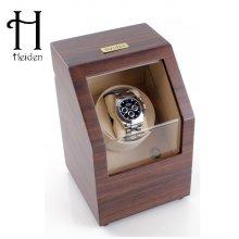 프리미어 싱글 와치와인더 HD009-Walnut 1구 명품 시계보관함