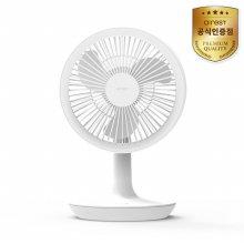 서큘레이터 미니팬 Airest-AF01 (화이트) [ 420g/ 4단계풍속조절/ 최대17시간연속사용]