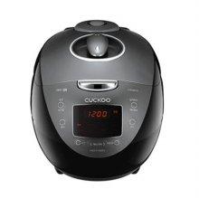 6인용 IH압력 전기밥솥 CRP-HVB0680SS [분리형 커버 / 음성지원 시스템 / 2중소프트 스팀캡]