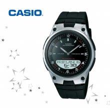 AW-80-1A 남성 우레탄 밴드 손목 시계