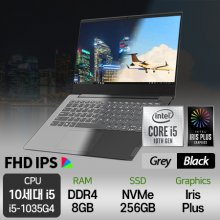 레노버 10세대 노트북 S340-14IIL-i5-G 플래티넘 그레이