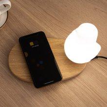 버디 스마트폰 무선충전겸용 LED 무드등 SL-B03