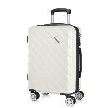 [캠브리지] 데이브 TSA 기내용 20형/55cm 확장형 여행가방 (2509) - 모던화이트