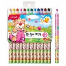 축지식색연필12색 레아 (모나미)