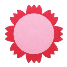 DF-1006 꽃판8(빨강) 2pcs/200mm