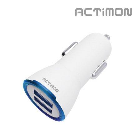 엑티몬 USB 2포트 3.1A 차량용 충전기