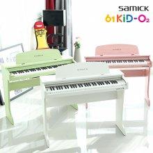 [리퍼상품] 삼익 어린이 디지털피아노 61KID-O2 키즈오투 핑크