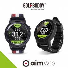 (특가) 골프버디 2019 AIM W10 풀컬러 시계형 거리측정기