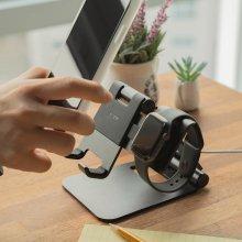 슈퍼 폴딩 태블릿 아이패드 스마트폰 갤럭시워치 액티브 애플워치 스탠드 거치대 애플워치용