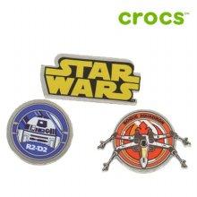 [크록스정품] 크록스 지비츠 /IA- 10006890 / Star Wars Classic 3 Pack