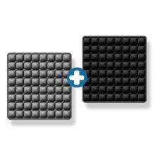 8x8 3D 입체엠보싱 바른자세 에어쿠션방석 1+1