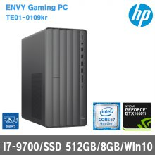 ENVY 데스크탑 TE01-0109kr[i7-9700/8G/SSD 512GB/GTX 1660Ti/Win10 Home]