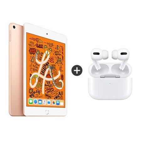 [패키지특가] iPad mini 5세대 7.9 WIFI 256GB 골드 MUU62KH/A + 에어팟 프로