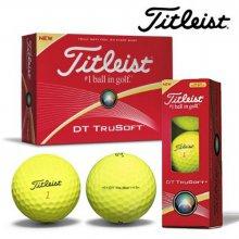 [타이틀리스트]2016년 DT TruSoft(옐로우) 골프볼,골프공-정품