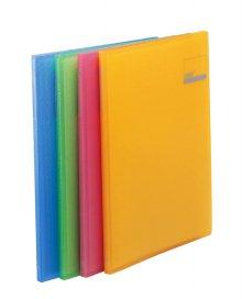반투명PP클리어화일 10매 (색상랜덤) (62055)