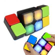(당일배송)루빅스 매직큐브 퍼즐큐브 뮤직 LED 장난감