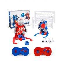 (당일배송)무선조종 로봇축구 RC로봇 (레드+블루set)