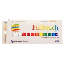 풀터치탄산분필 10색혼합12본 (하고로모)