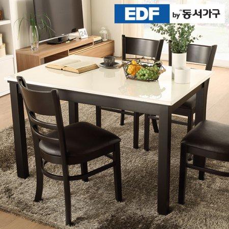 케빈 4인용 대리석 식탁테이블(의자미포함) DF629501