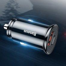 베이스어스 30W PPS USB+C타입 차량용충전기 (화이트)