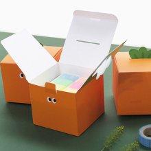 귀여운 당근 기프트 종이 박스 메세지 선물 포장_51CA2A