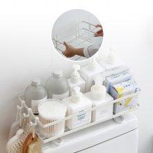 프리미엄 욕실 수납 선반 화장실 변기 미니선반 화이트