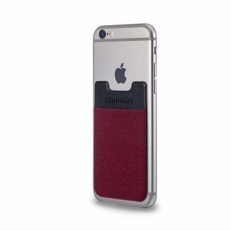 신지파우치 핸드폰 카드케이스/Basic3 - 와인레드