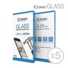 아이크라운 9H 강화유리필름 5매 아이폰 11Pro Max
