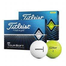 타이틀리스트 정품 2020년형 트루소프트 2피스 골프공(1다즌 12알)