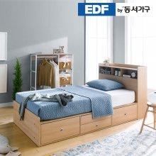 루젠 수납헤드 깊은서랍 슈퍼싱글 침대 프레임 DFF3598F