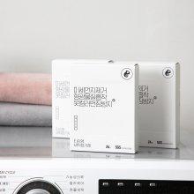 [레오니오] 미세먼지 형광물질 흡착제거 세탁티슈 24매 x 10box