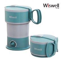 접이식 주전자 캠핑 휴대용 전기 미니 커피 포트 SN3633B-TW-06A
