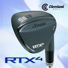 [추가할인쿠폰](던롭정품) 클리브랜드 ALL NEW RTX 4 블랙사틴 스틸 웨지(DG S200)