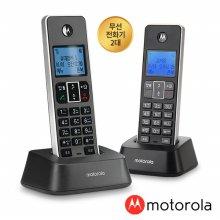 모토로라 무무선 전화기 IT.5.1XA + IT.5.1XAH DUAL 블랙+블랙
