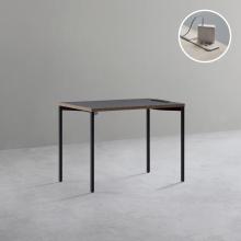 DSAD610P 1인 노트북 책상 (빌트인 콘센트) 1000X600