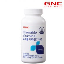 츄어블 비타민C 100 (125정) 42일분