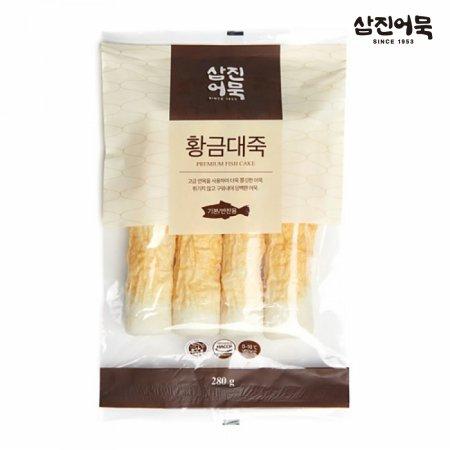 황금대죽 1봉 280g (4개입) / 구운어묵