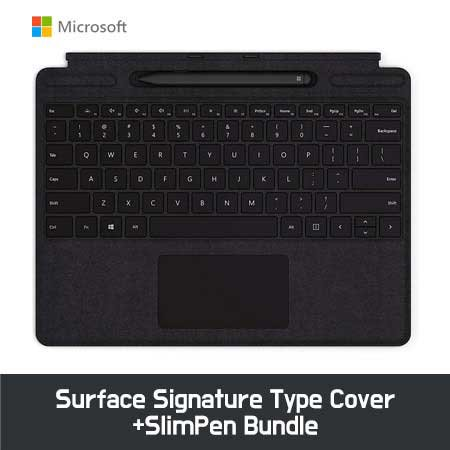 Microsoft Surface ProX Signature Type Cover+SlimPen Bundle