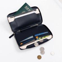 스마트폰 수납 장지갑 캐리어랏 네이비