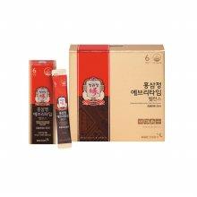 쇼핑백증정 / 홍삼정 에브리타임 밸런스 10mlx30포 5+1 (총6박스)