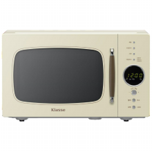 전자레인지 GKRL232DCK [23L/레트로 스타일/쏙쏙 요리거울 가열]