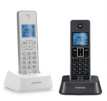 모토로라 무무선 전화기 IT.5.1XA + IT.5.1XAH DUAL 화이트+블랙