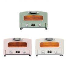 [하이바이마마 출연] 3in1 그라파이트 그릴 오븐 토스터 CRT-153SA (크림화이트/블라썸핑크/올리브그린)