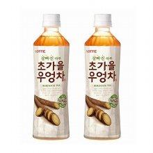 [롯데칠성음료] [하나더] 초가을 우엉차 500ml