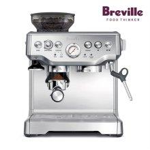 올인원 반자동 에스프레소 커피머신 BES870 (실버)