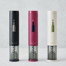 이지 원터치 전동 와인 오프너 호일커터(화이트/레드와인/블랙)