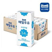 매일 멸균우유 오리지널 3.4% 200ml 24팩